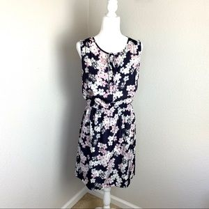 Ann Taylor LOFT Floral Dress Women's M
